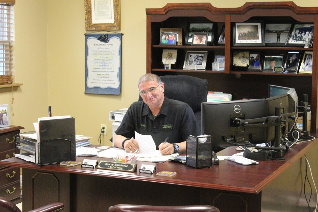 Youngsville Police Chief, Rickey Boudreaux